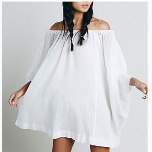Free People Beach Dreamin Tunic Dress Oversized XS